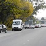 Caravana a La Plata por el aumento salarial.