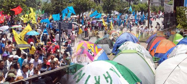 Contra la criminalización de la protesta