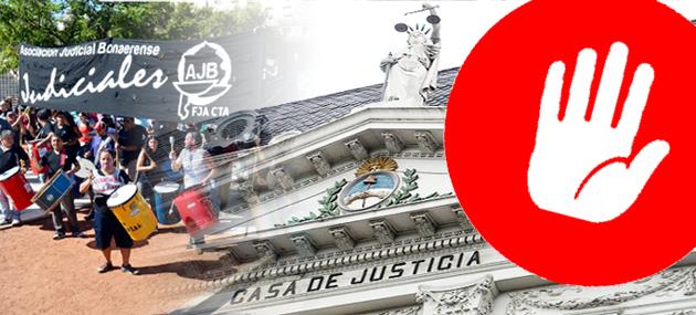 El Poder Judicial al borde de la paralización